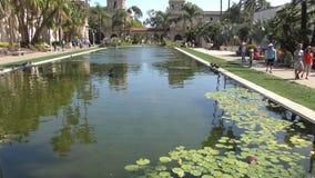 Parco San Diego della balboa stock footage