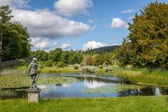 Parco scozzese tipico Fotografie Stock