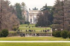 Parco Sempione Στοκ Εικόνες