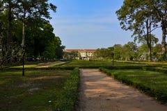 Parco in Siem Reap cambodia immagine stock