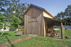 Parco storico del villaggio del Manatee, Bradenton, Florida Fotografia Stock