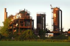 Parco storico dell'officina del gas, Seattle, U.S.A. Fotografia Stock Libera da Diritti