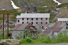 Parco storico dello stato della miniera di indipendenza, Alaska Fotografia Stock Libera da Diritti