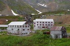 Parco storico dello stato della miniera di indipendenza, Alaska Fotografia Stock