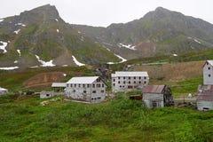 Parco storico dello stato della miniera di indipendenza, Alaska Immagine Stock Libera da Diritti