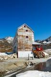 Parco storico dello stato della miniera di indipendenza nell'Alaska Fotografia Stock Libera da Diritti