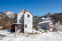 Parco storico dello stato della miniera di indipendenza nell'Alaska Immagini Stock Libere da Diritti