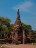 Parco storico di Ayutthaya di si di Phra Nakhon thailand fotografia stock libera da diritti
