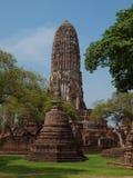 Parco storico di Ayutthaya di si di Phra Nakhon thailand immagine stock libera da diritti