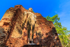 Parco storico di Kamphaeng Phet in Tailandia Fotografia Stock Libera da Diritti
