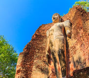 Parco storico di Kamphaeng Phet in Tailandia Fotografie Stock