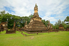 Parco storico di Satchanalai Chaliang di si fotografie stock