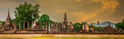 Parco storico di Sukhothai fotografie stock libere da diritti