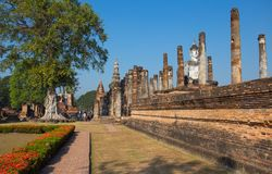 Parco storico di Sukhothai, Sukhothai, vecchia città, sito del patrimonio mondiale, Unesco, Tailandia fotografia stock
