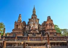 Parco storico di Sukothai, Tailandia Fotografia Stock Libera da Diritti