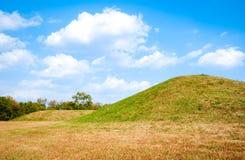Parco storico nazionale della cultura di Hopewell Fotografia Stock