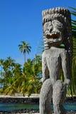 Parco storico nazionale di Puuhonua o Honaunau Fotografie Stock
