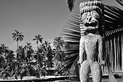 Parco storico nazionale di Puuhonua o Honaunau Immagini Stock