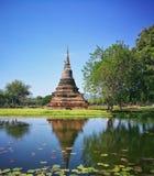 Parco storico nazionale di Sukhothai, Sukhothai, Tailandia Immagini Stock Libere da Diritti