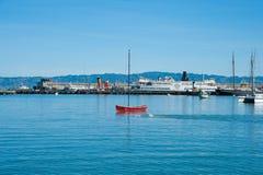Parco storico nazionale marittimo Fotografia Stock Libera da Diritti