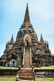 Parco storico, si Ayutthaya, Tailandia di Phra Nakhon Immagini Stock Libere da Diritti