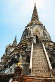 Parco storico, si Ayutthaya, Tailandia di Phra Nakhon Fotografia Stock
