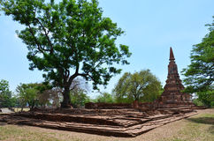 Parco storico Tailandia di Ayutthaya Fotografia Stock Libera da Diritti