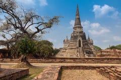 Parco storico Tailandia di Ayutthaya Fotografie Stock Libere da Diritti