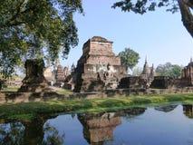 Parco storico vecchio Sukhothai/Tailandia Fotografia Stock Libera da Diritti