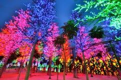 Parco a tema della Io-città, scià Alam Malaysia Immagini Stock