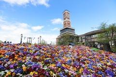 Parco a tema di Shiroi Koibito della fabbrica del cioccolato Fotografie Stock