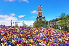 Parco a tema di Shiroi Koibito della fabbrica del cioccolato Fotografia Stock