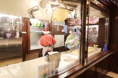 Parco a tema di Shiroi Koibito della fabbrica del cioccolato Immagine Stock Libera da Diritti