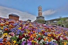 Parco a tema di Shiroi Koibito della fabbrica del cioccolato Fotografia Stock Libera da Diritti