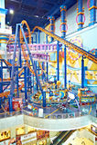 Parco a tema nel centro commerciale del Times Square di Berjaya Immagini Stock