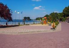 Parco in Ternopil Fotografia Stock