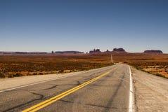 Parco tribale navajo della valle del monumento Fotografia Stock