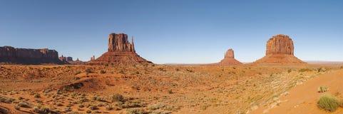 Parco tribale navajo della valle del monumento Immagine Stock Libera da Diritti