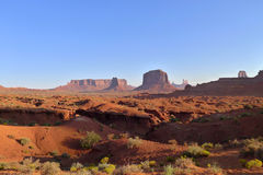 Parco tribale navajo della valle del monumento Fotografie Stock Libere da Diritti