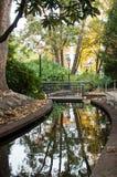 Parco urbano in autunno Fotografie Stock Libere da Diritti