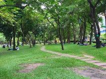 Parco in vacanza fotografie stock