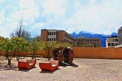 Parco Vaduz Liechtenstein di arte moderna Fotografie Stock Libere da Diritti