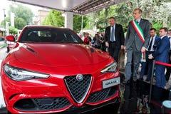 Parco Valentino - Car Show dell'aria aperta a Torino - seconda edizione 2016 fotografia stock libera da diritti