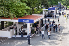Parco Valentino - Car Show dell'aria aperta a Torino - seconda edizione 2016 fotografia stock