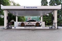 Parco Valentino - Car Show för öppen luft i Turin - andra upplaga 2016 Arkivbild