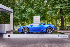 Parco Valentino - Open Air Car Show in Turin - Second edition 2016 Stock Photo