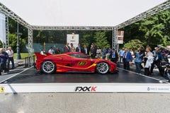Parco Valentino - Salone & Gran Premio - Car Show dell'aria aperta a Torino Immagini Stock Libere da Diritti