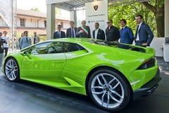 Parco Valentino - Salone & Gran Premio - Car Show dell'aria aperta a Torino Immagine Stock