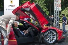 PARCO VALENTINO - SALONE & GRAN PREMIO - THE NEW OPEN AIR CAR SHOW Royalty Free Stock Photos
