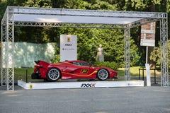 Parco Valentino - Salone & Gran Premio - Open Air Car Show in Turin Stock Photos